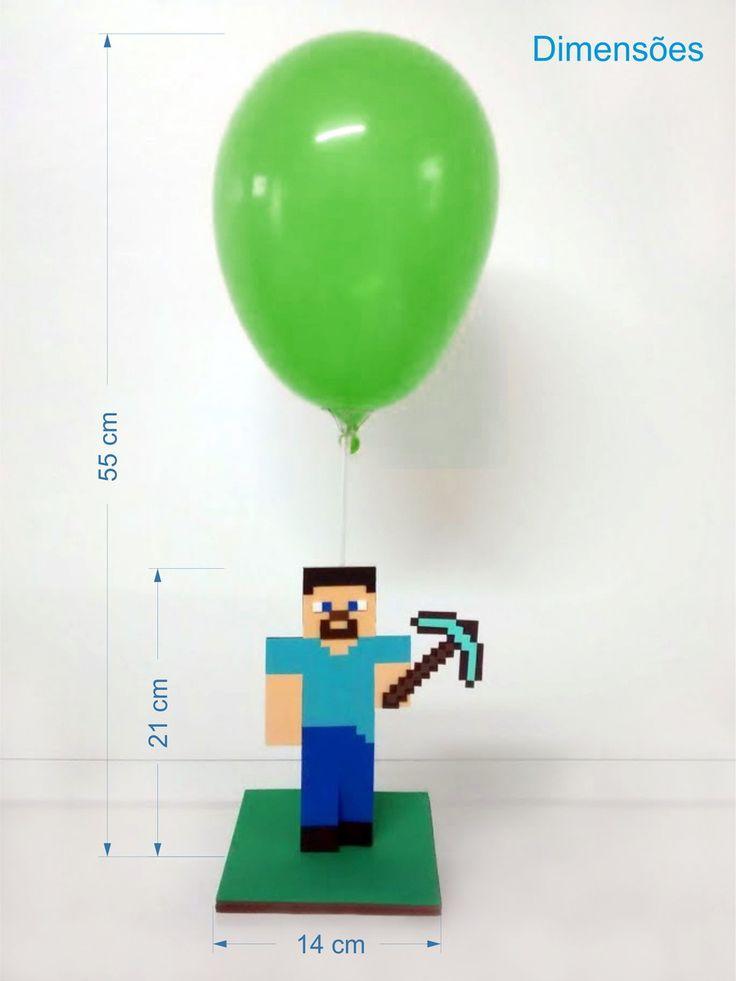 Enfeite Xbox ~ 25+ melhores ideias de Festa do minecraft no Pinterest festa com tema Minecraft, Aniversário