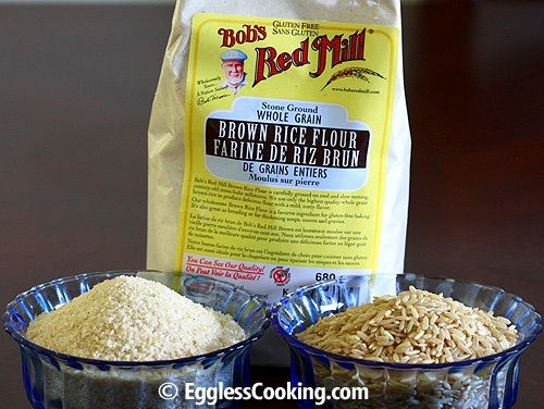 Baking with Brown Rice Flour. This website has a bunch of recipes that use brown rice flour.