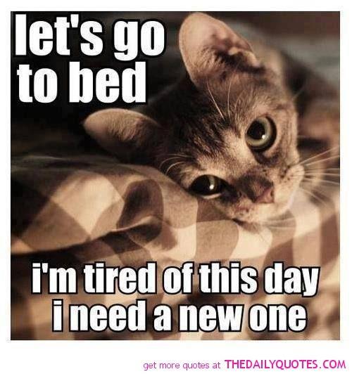 Oh, I have felt like this many a night...