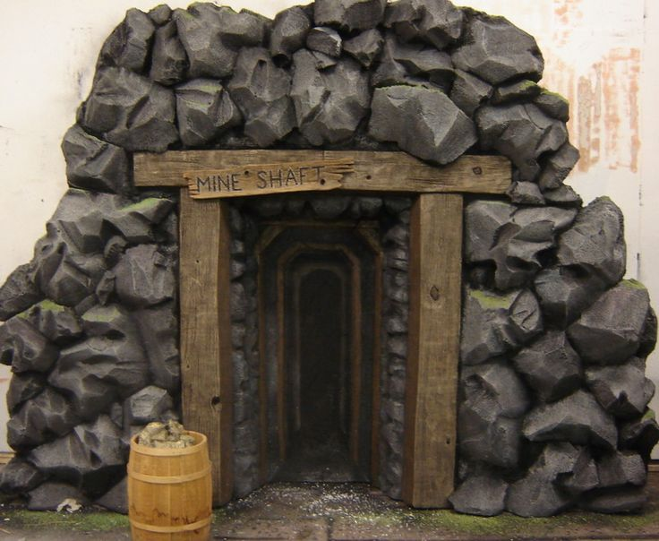 gold mine stage prop | just a google link, but cool for cave entrances too