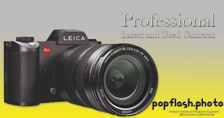 Popflash Photo #OnlineCameraShopping offer Used Cameras and Lenses for Sale at Discounted Prices