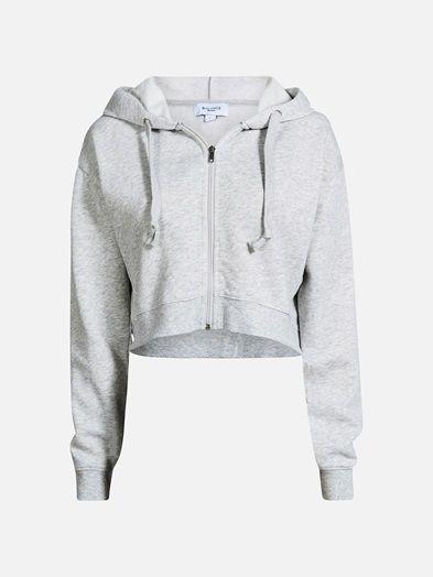Brilliant zip jacket | 7195727 | Vaaleanharmaa | BikBok | Suomi