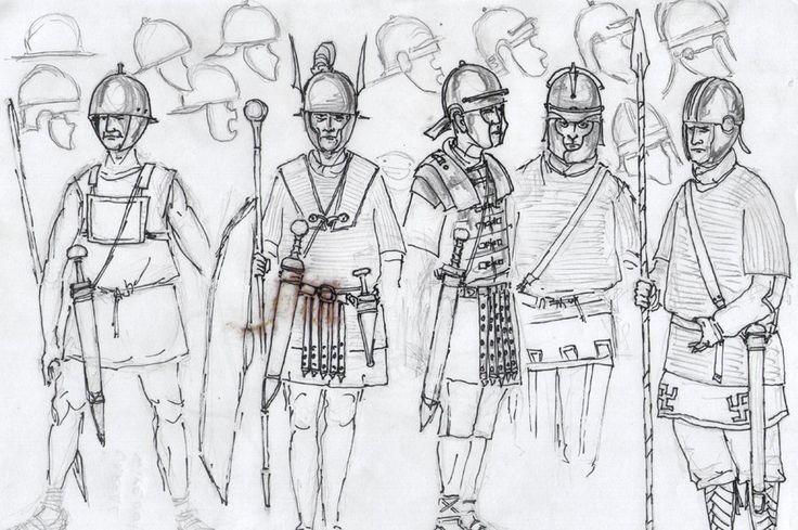 Roman warriors by RyanRyzzo.deviantart.com on @DeviantArt