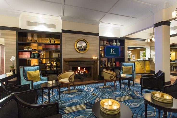 Contemporary Art Deco Lobby