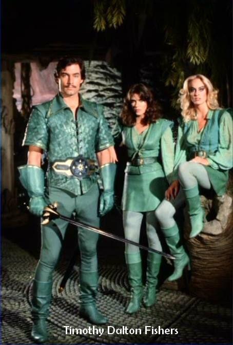 Timothy Dalton as Prince Barin in Flash Gordon 1980