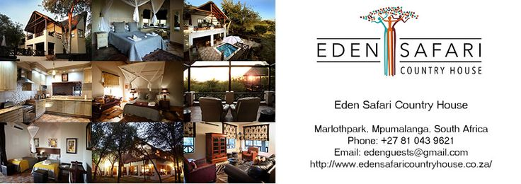 How to contact us directly:  Phone: 081 043 9621 Email: edenguests@gmail.com