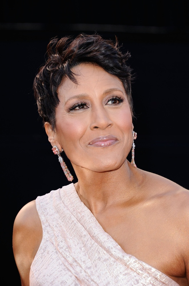 Robin Roberts, television personality, writer, breast cancer survivor. This is the beautiful face of courage!