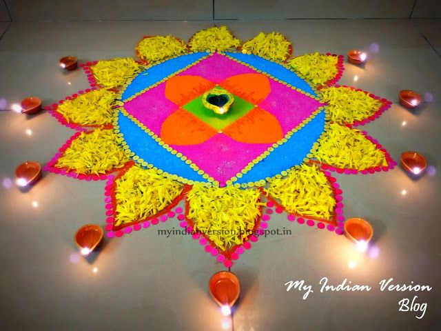 Best 25 Diwali Decorations At Home Ideas On Pinterest