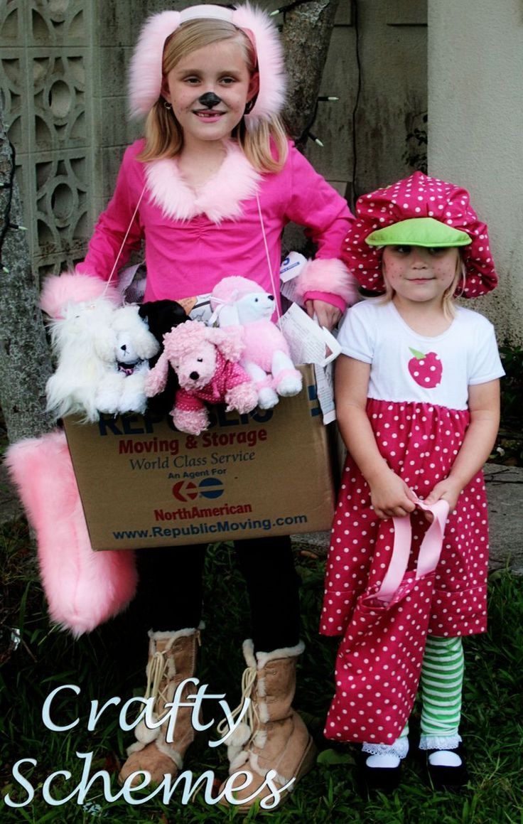 Inspiration for making my daughters strawberry shortcake halloween costume this year. I think I can do it.