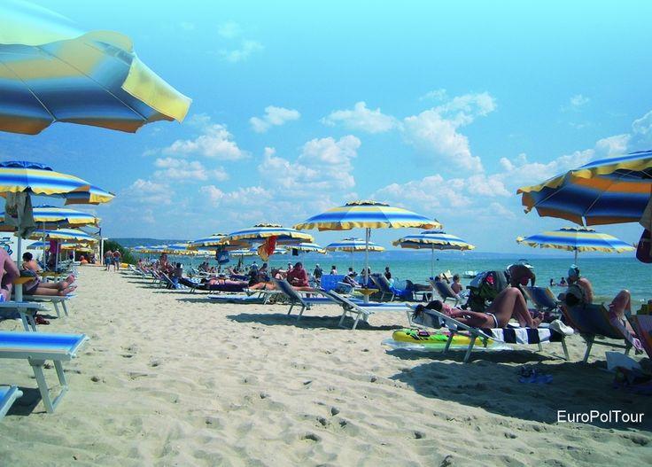 Bułgaria, Złote Piaski, plaża
