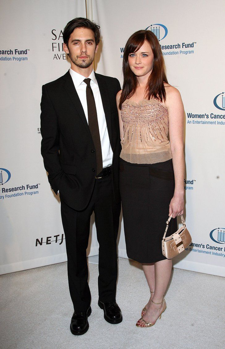 Pin for Later: Is There a TV Costar Curse? 30 Couples That Couldn't Make It Work Milo Ventimiglia and Alexis Bledel