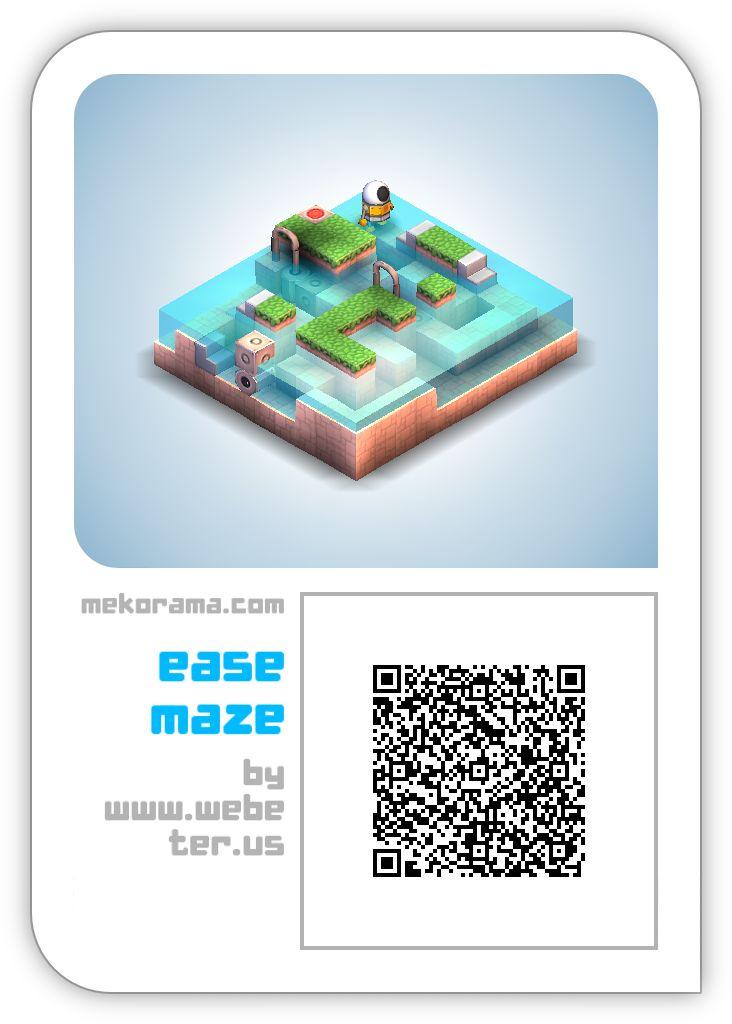 mekorama ease maze