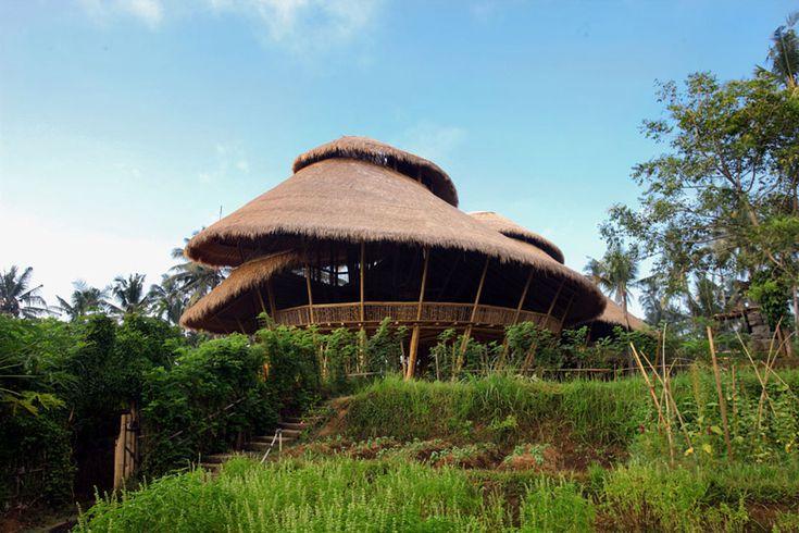 PT bamboo pure: green school, bali | designboom