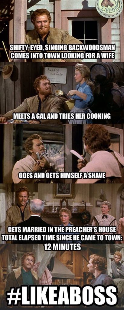 How Adam Pontipee (from Seven Brides for Seven Brothers) does Valentine's Day.