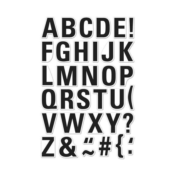 CL982 Luggage Tag Alphabet-Hero Arts