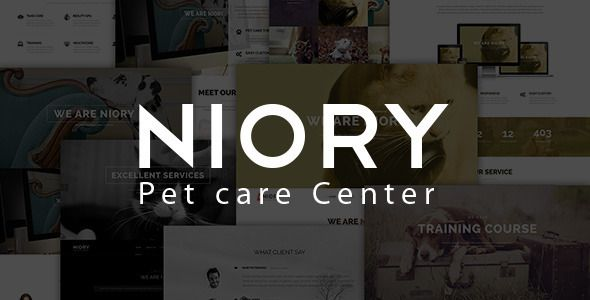 Niory - Pet Care Responsive Joomla Template