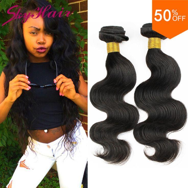 "peruvian virgin hair body wave 3 bundles lot 6a sky human hair wet and wavy peruvian body wave 8""-32"" 100% human hair extensions"