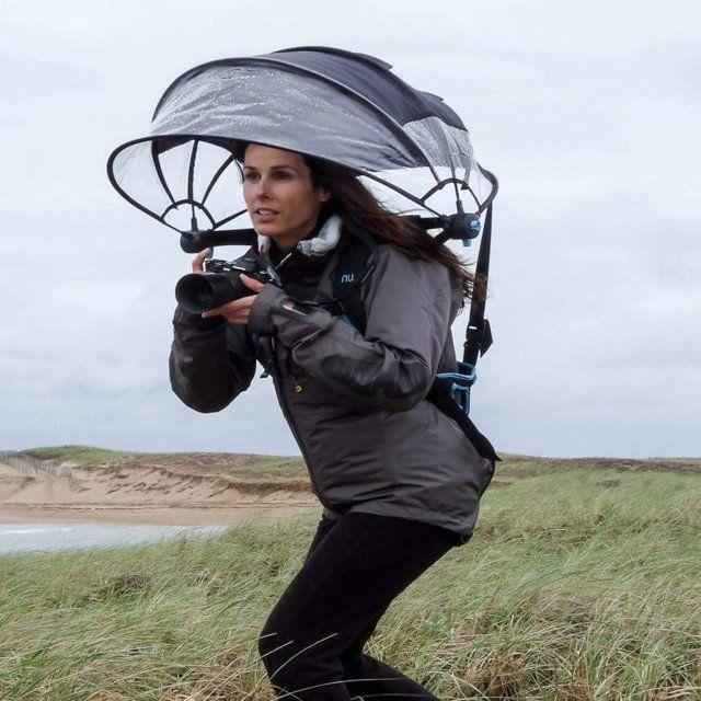 Nubrella - Hands-Free and Wind-Resistant Umbrella - Shop Shizzap - 1