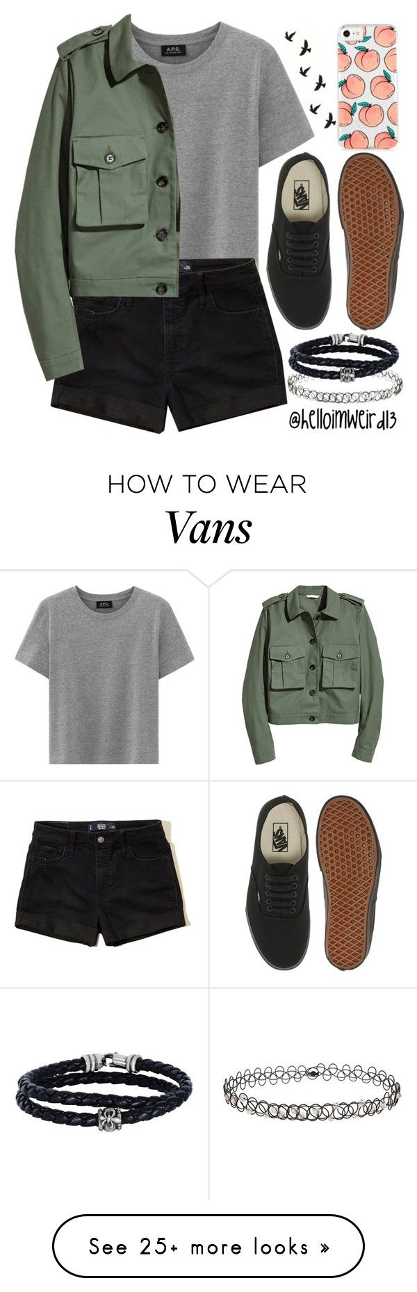 """with no more tears, no more pain, and no more fears"" by helloimweird13 on Polyvore featuring Hollister Co., Vans, Miss Selfridge and Phillip Gavriel"