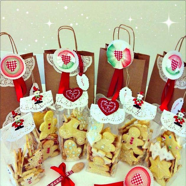 Chiarapassion: Biscotti per Natale, Heart Candy Pops e Packaging