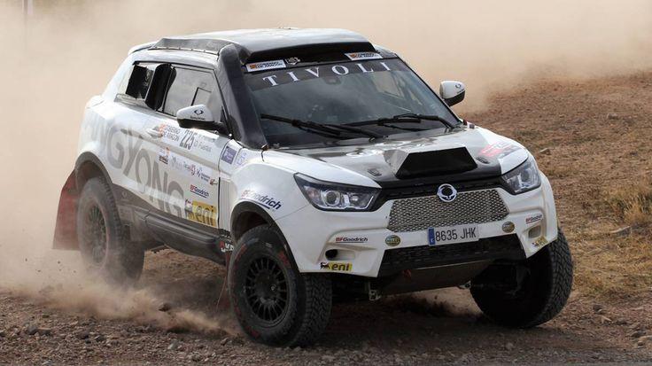 Ssangyong debutará en el Dakar 2018 con el nuevo Tivoli DKR