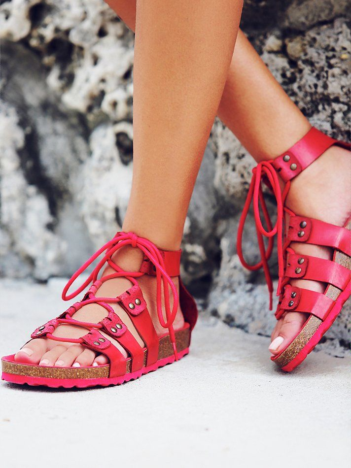 17 Best ideas about Red Sandals on Pinterest | Swedish hasbeens ...