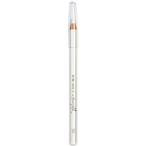 Barry M White Kohl Pencil (29 SAR) ❤ liked on Polyvore featuring beauty products, makeup, eye makeup, eyeliner, eye pencil makeup, barry m, pencil eye liner and pencil eyeliner
