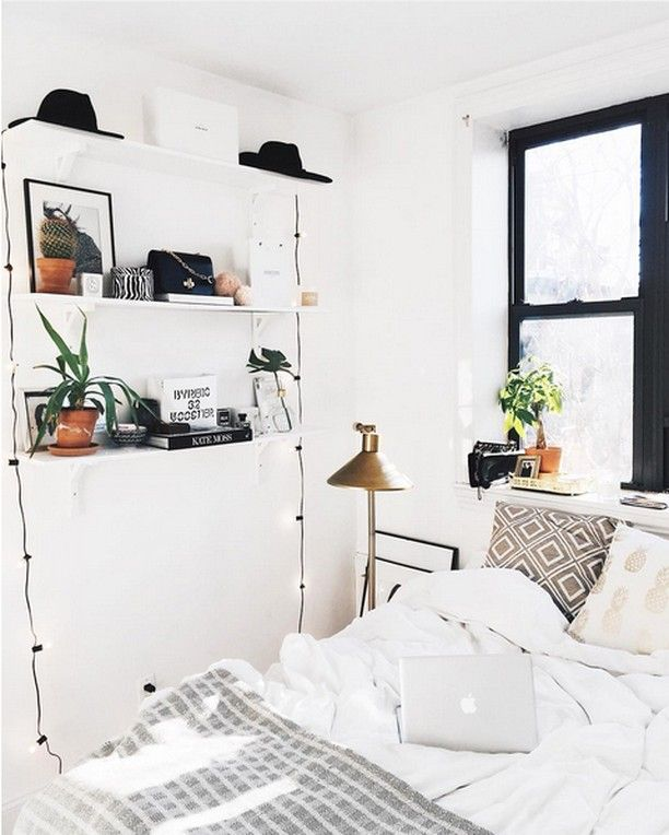 the 25 best minimalist dorm ideas on pinterest ikea. Black Bedroom Furniture Sets. Home Design Ideas