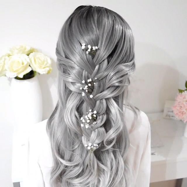 For more braid video tutorials just visit our website! #hairtutorial #videotutorial #hairvideos #braidedhair