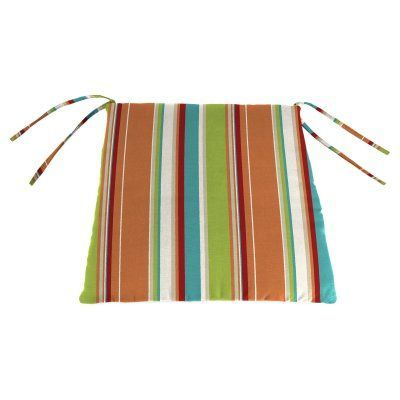 Jordan Manufacturing 18 in. Knife Edge Outdoor Seat Cushion - Covert Breeze - HN163PK1-3775D