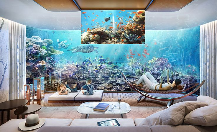 You Can Now Live Lavishly Underwater In These Floating Seahorse - These amazing floating villas have underwater bedrooms