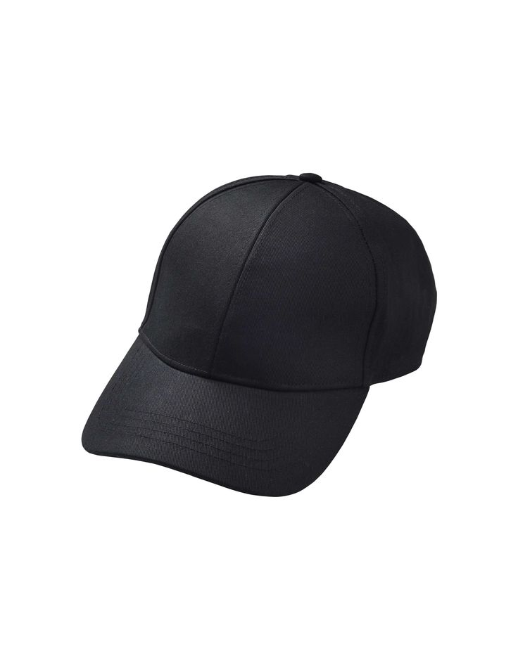 Marzio cap - Men's classic baseball cap in cotton canvas. Features adjustable leather strap at back. Tonal tiger head on right side.