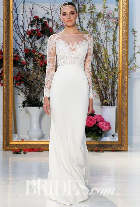 Anne Barge Wedding Dress - Spring 2017 | Brides.com