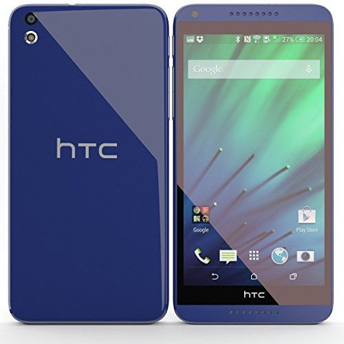 HTC Desire 816G Dual Sim Factory Unlocked Sim Free Mobile Phone Octa-Core Smartphone 5.5 inch Screen (BLUE)