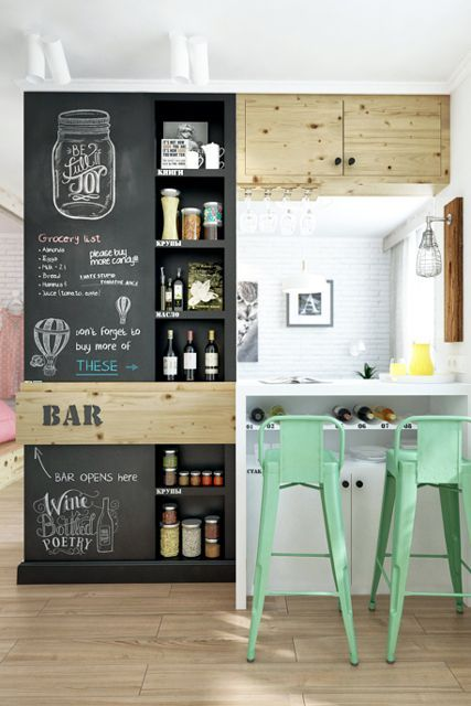 See all 4 genius areas of this awesome studio apartment