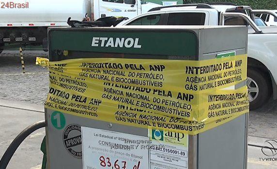 Postos de gasolina da GV são interditados com combustível adulterado