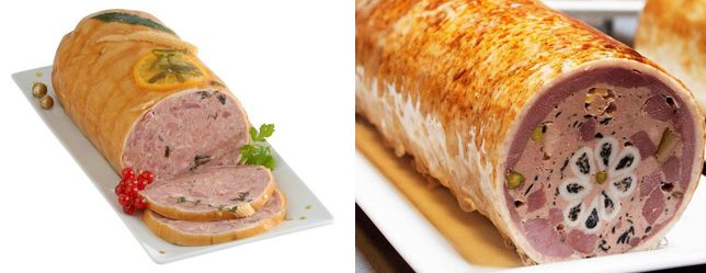 Cooking galantine and ganazh | Recipes for you
