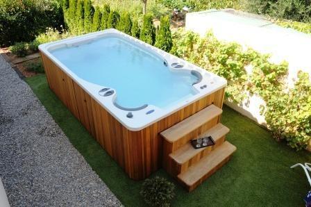 Aquaplay Portable - Spa de Nage Clair Azur