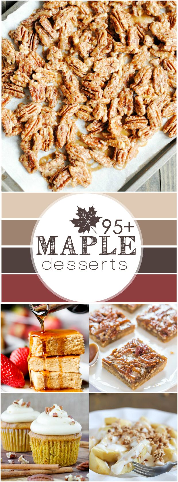 Over 95 fantastic Maple recipes that are all perfect for Fall!
