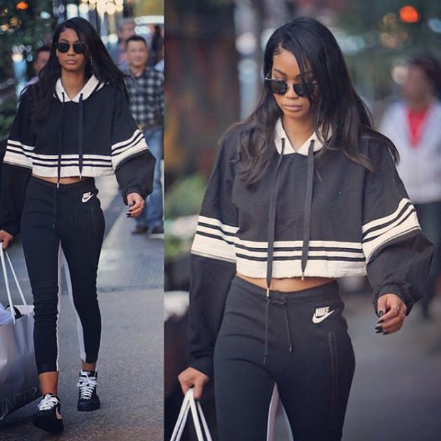 How to Show Some Skin This Winter - Chanel Iman-Wmag