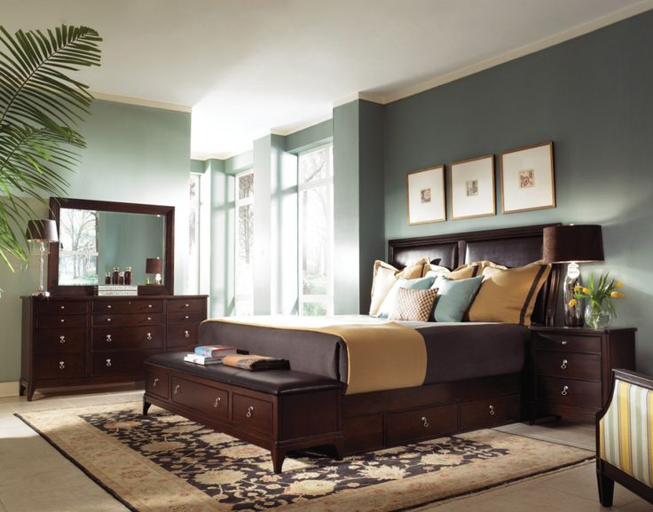 Chocolate Brown Bedroom Furniture   Interior Paint Colors Bedroom Check  More At Http://