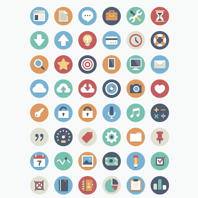 Beautiful Flat Icons, #AI, #Circle, #Circular, #EPS, #Flat, #Free, #Graphic #Design, #Icon, #PDF, #PNG, #Resource, #Round, #Vector