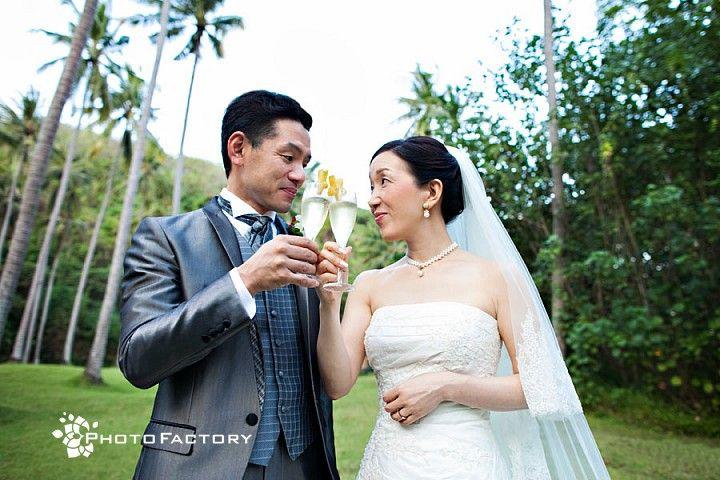 Wedding at Amankila
