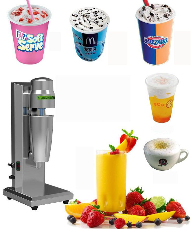 commercial household milkshake machine cyclone machine soft ice cream mixer speed milkshake machine