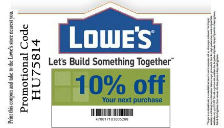 Lowes Promotion Code