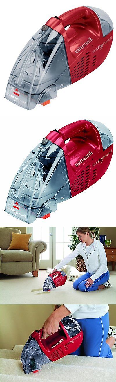Carpet Shampooers 177746: Cleaning Vacuum Small Deep Carpet Cleaner Spot Stain Remover Portable New - Red -> BUY IT NOW ONLY: $57.93 on eBay!