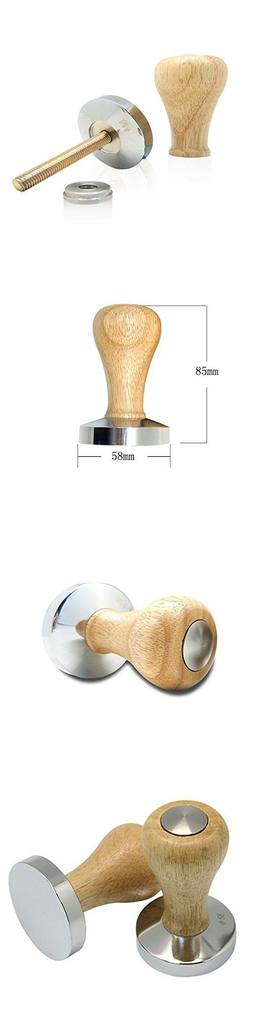 Bluefun Coffee Tamper Stainless Steel Disassembly Handle Barista Espresso Tamper (51mm)