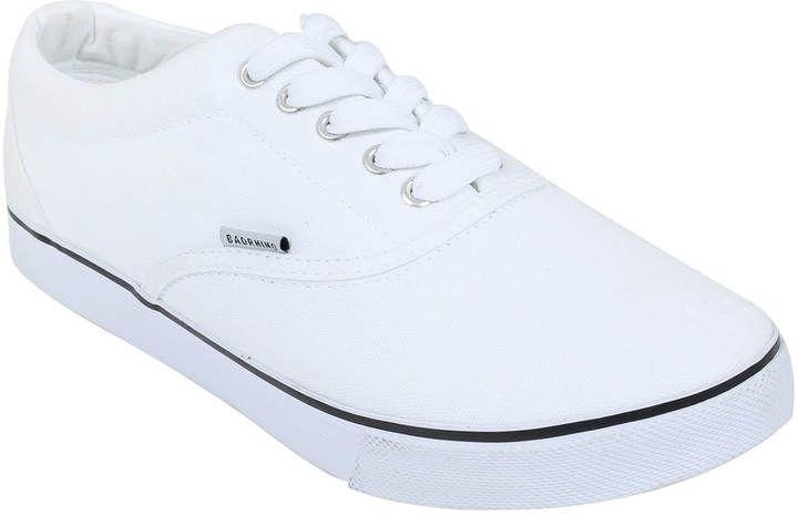 Yours Clothing White Canvas Lace Up Plimsolls