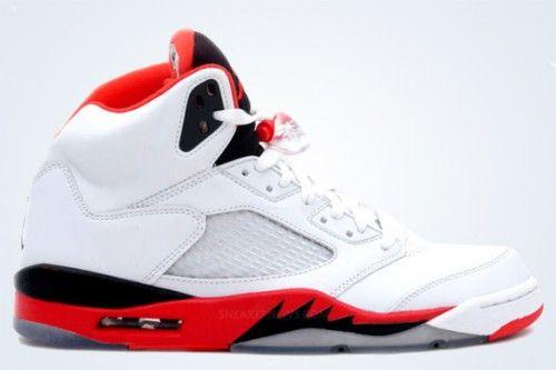 "Air Jordan V Retro ""Fire Red"" | Release Info"