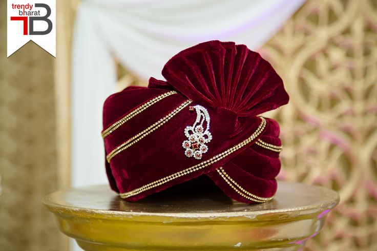 Browse through our majestic range of men's turbans to roll out a traditional look at an Indian wedding. #turbans #mensethnicwear #traditionalclothing #mensfashion #ethnicwear https://trendybharat.com/men-fashions/ethnic-wear/turban